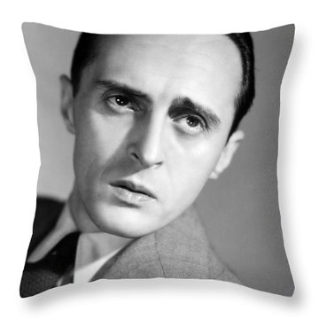 Rene Clair (1898-1981) Throw Pillow by Granger