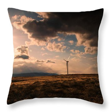 Renewable Energy Throw Pillow by Dan Mihai