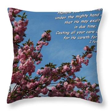 Renewal Throw Pillow