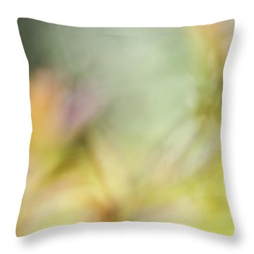 Renewal Of Spring  Throw Pillow by Heidi Smith