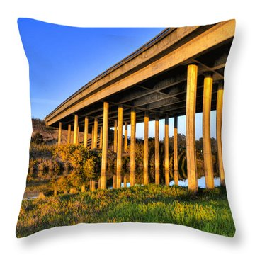 Throw Pillow featuring the photograph Repetition by Marta Cavazos-Hernandez