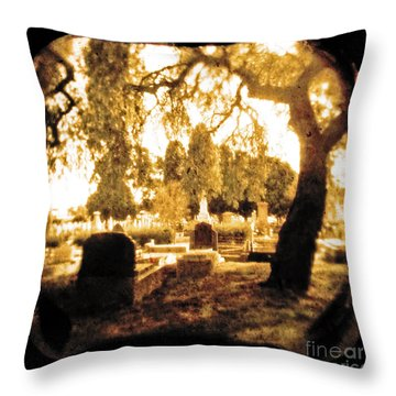 Repose Throw Pillow by Andrew Paranavitana