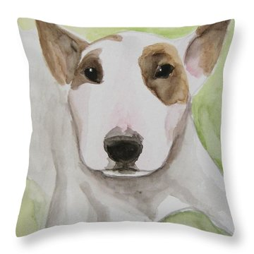Rescue Me Nr. 4 Throw Pillow by Jindra Noewi