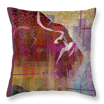Resilient Throw Pillow by Ginny Schmidt