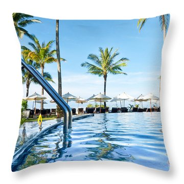 Rest View Throw Pillow