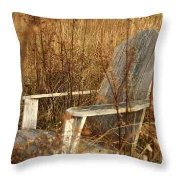 Restfull Throw Pillow