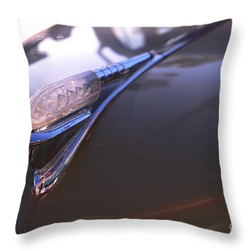 Throw Pillow featuring the photograph Restored by Clayton Bruster
