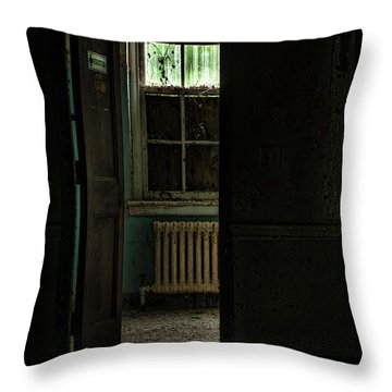 Resuscitator Room Throw Pillow by Gary Heller