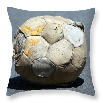 Retired Throw Pillow by Patrick Witz