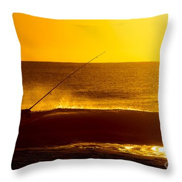 Retirement Bliss Throw Pillow