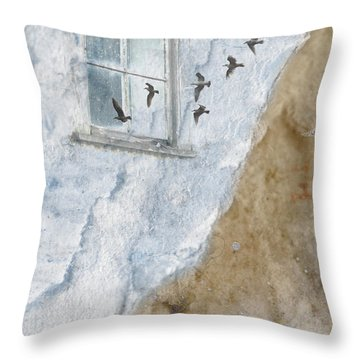 Return Flight Throw Pillow
