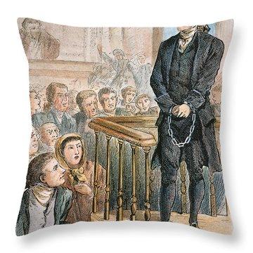 Rev. George Burroughs Throw Pillow by Granger