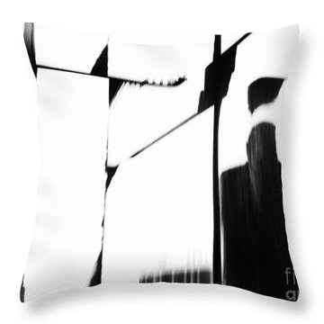 Revolving Doors Throw Pillow