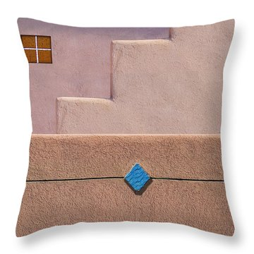 Rhombus Throw Pillow by Paul Wear