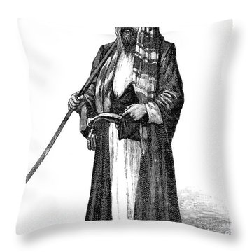 Richard Francis Burton Throw Pillow by Granger