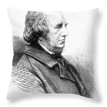 Richard Monckton Milnes Throw Pillow