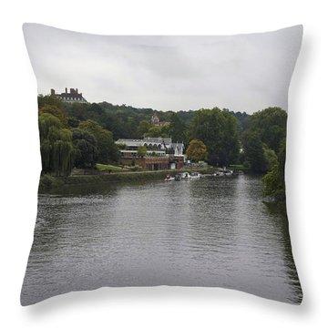 Throw Pillow featuring the photograph Richmond Cruise by Maj Seda