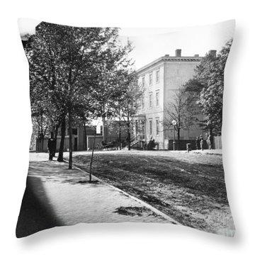 Richmond: Davis Home, 1865 Throw Pillow by Granger