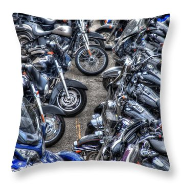 Ride And Shine Throw Pillow