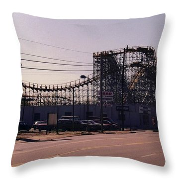 Ride It Cowboy Throw Pillow by Stacy C Bottoms