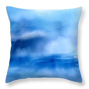 Riding Out The Storm Throw Pillow by Arline Wagner