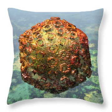 Rift Valley Fever Virus 1 Throw Pillow