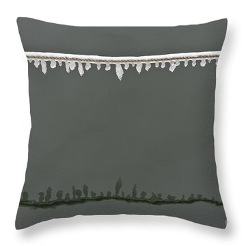 Rimy Rope 2.1 Throw Pillow by Heiko Koehrer-Wagner