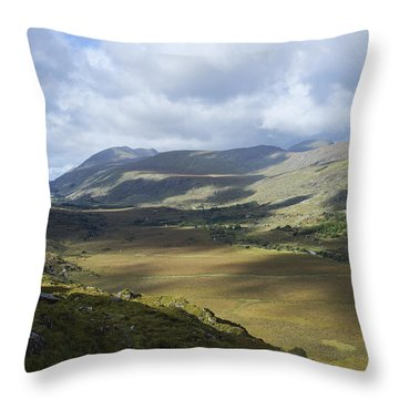 Throw Pillow featuring the photograph Ring Of Dingle by Hugh Smith