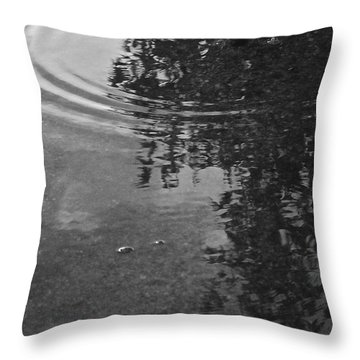 Throw Pillow featuring the photograph Rippled Tree by Kume Bryant