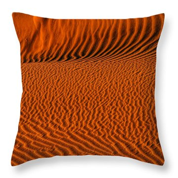 Ripples Converge Throw Pillow