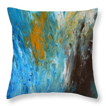 Riptide Throw Pillow by Everette McMahan jr