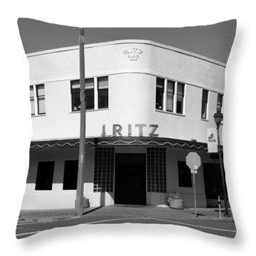 Ritz Building Eureka Ca Throw Pillow