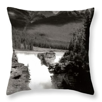 River Fall Part 1 Throw Pillow by Marcin and Dawid Witukiewicz