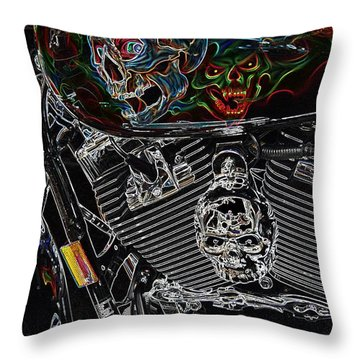 Road Warrior Throw Pillow