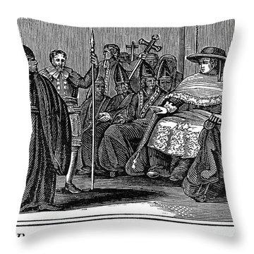 Robert Barnes (1495-1540) Throw Pillow by Granger
