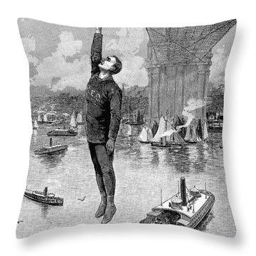 Robert E. Odlum Throw Pillow by Granger