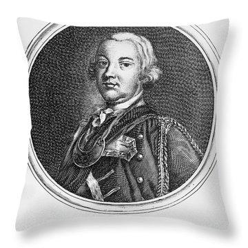 Robert Monckton (1726-1782) Throw Pillow by Granger