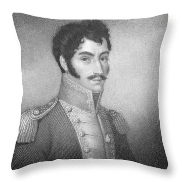 Robert Southey, English Poet Laureate Throw Pillow by Photo Researchers