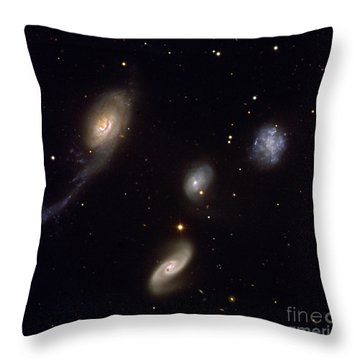 Roberts Quartet Throw Pillow by European Southern Observatory