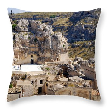 Rock Church Santa Maria Idris Throw Pillow