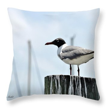 Rockport Harbormaster Throw Pillow