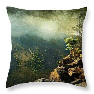 Rocky Hill Throw Pillow by Svetlana Sewell