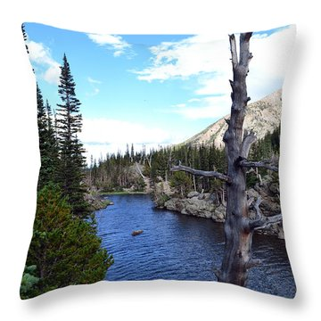Rocky Mountain National Park1 Throw Pillow by Zawhaus Photography