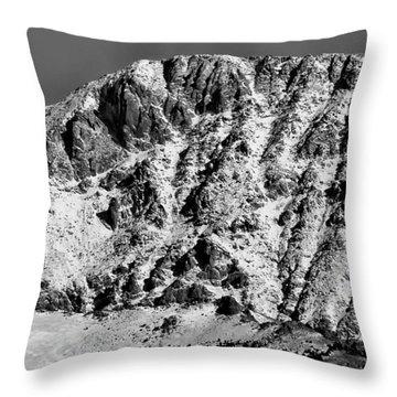 Rocky Mountain Ridges Throw Pillow
