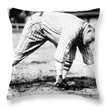 Rogers Hornsby (1896-1963) Throw Pillow by Granger