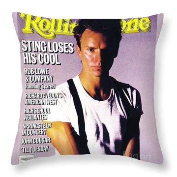 Sting Throw Pillows