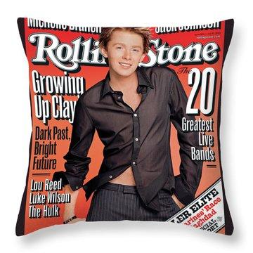 Clay Throw Pillows