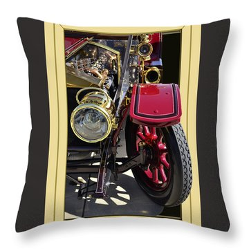 Throw Pillow featuring the photograph Rolls Out by Larry Bishop