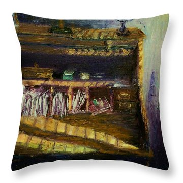 Rolltop Throw Pillow by Stephen King
