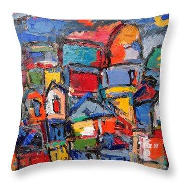 Roma 05 Throw Pillow